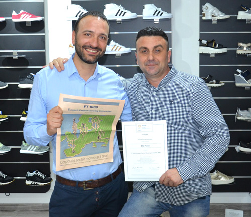 Carmine Grassio e Borrelli, fondatori di Pianeta Outlet