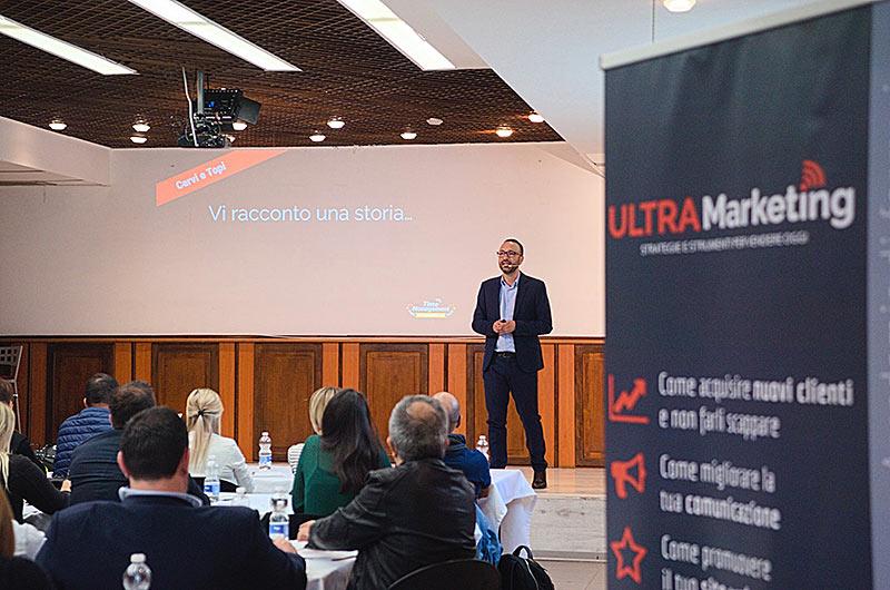 Carmine Grassio, fondatore progetto Ultra Marketing