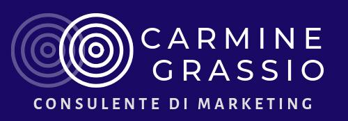 Logo Carmine Grassio, consulente di Marketing